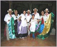 Members of the Kansas Friendship Force dance in Colombia.